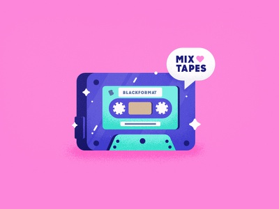 I 💖  Cassettes   playoff candy colors tasty texture heart music blackformat mixtape old school cassette