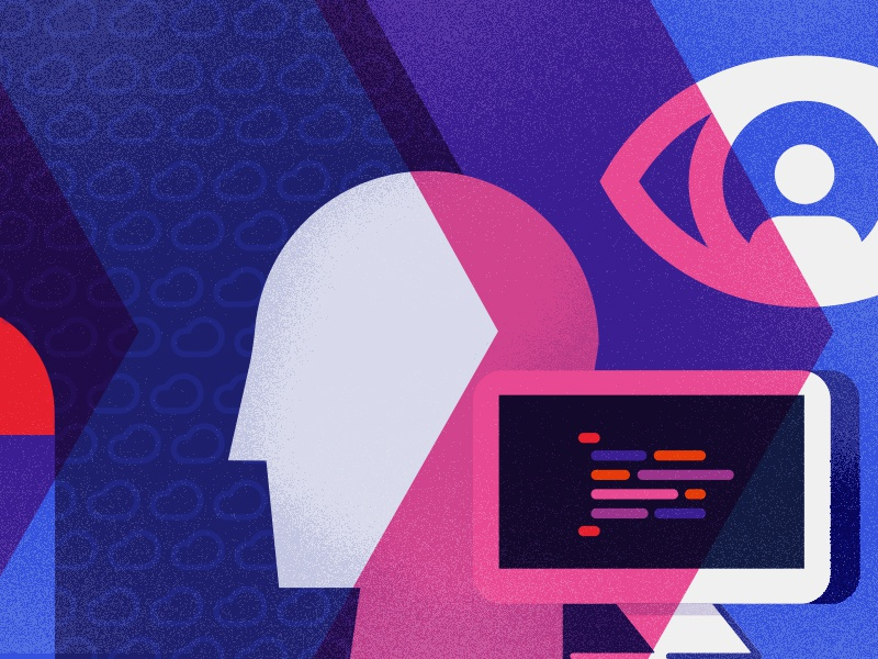 Brand Exploration ibm austin xlab illustration exploration design branding