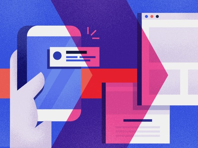 More brand explorations ibm austin xlab illustration exploration design branding