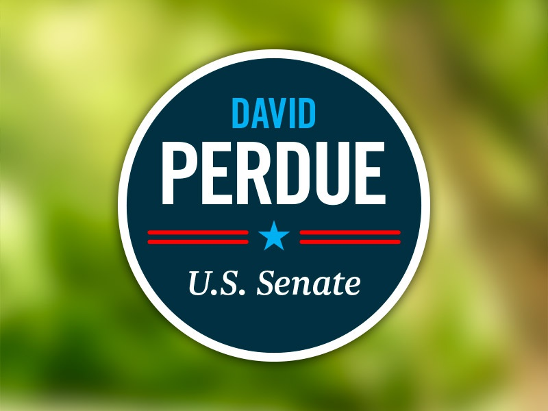 Senate Campaign Logo logo branding senate politics