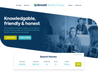 Marketing Site Design – Sinnett Realty