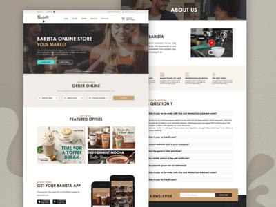 Barista Website