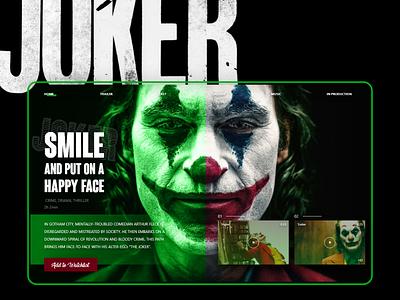 JOKER joker online interface interaction ux design ui