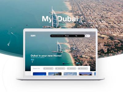 Dubai Tourism website landing page ui landing page motion interaction user experience ux design graphics graphicdesign visual design dubai userinterface ui  ux uiux dubaitourism ui