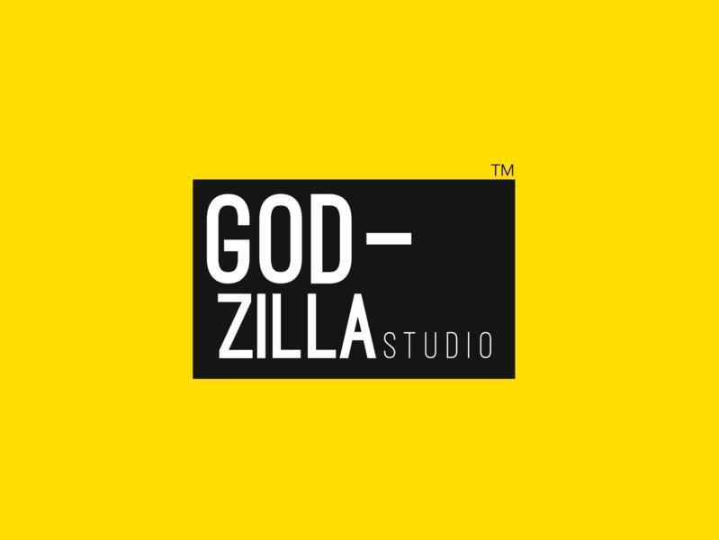 Godzilla Logo Design typography branding logo design