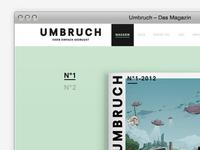 Umbruch Homepage