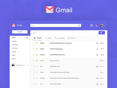 Gmail Redesign gmail gmail redesign