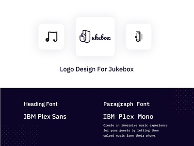 Branding Guideline for Jukebox graphicdesign clean design banner graphic design illustraion art procreate illustrator illustration