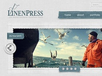 LinenPress - WordPress Theme
