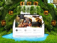 Creativeland - Web Layout 2.