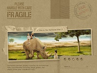 Fragile - WordPress Theme