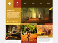 Autumn - WordPress Theme 2.