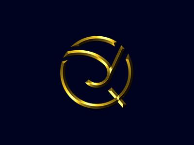 YQ typogaphy typo logo alphabet logo minimal yq logo letter logo type art q yq