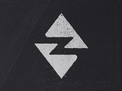 Dr. Z geometic diamonds negative space logo letter logo letter z z logo