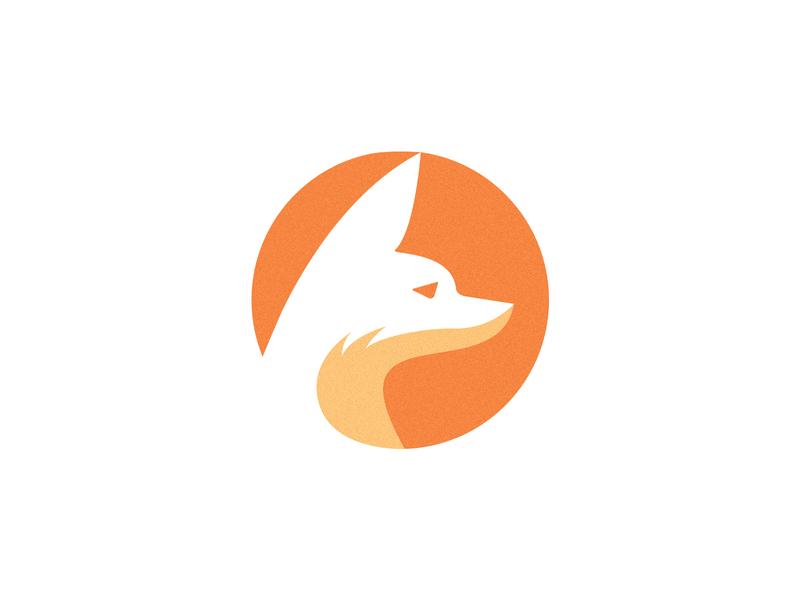 Fennec Fox logo animal illustration wild animal animal fennec fox