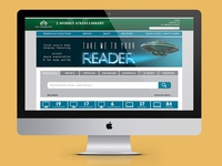 J Murrey Atkins Library Website Redesign