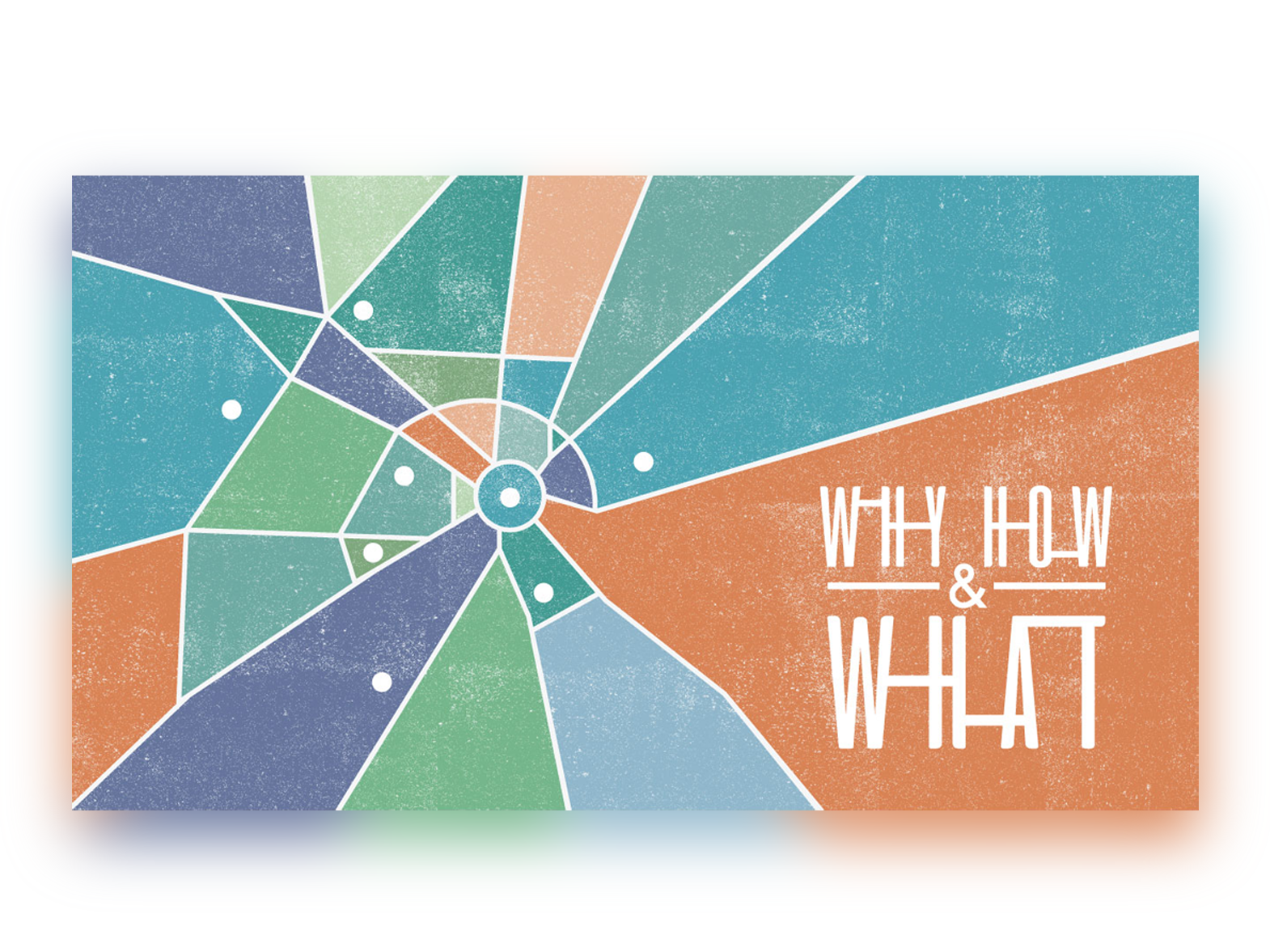 Why How and What Series Artwork typography vector illustration cityscape roads map research triangle north carolina durham chapel hill raleigh texture church design church series series graphic series art series illustrator