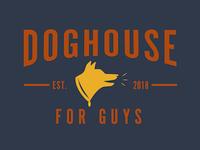 Doghouse for Guys logo design