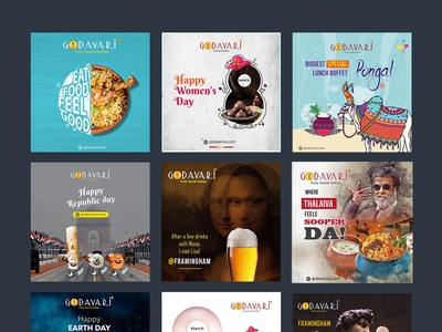 South Indian Restaurant In Usa Designs On Dribbble