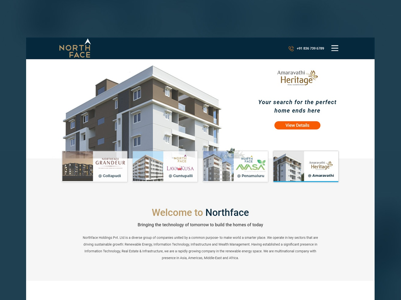 North Face indian real estate real estate india design indian ad campaign website design ui ux design app design best ui ux solution design work