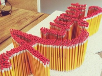 August Pencil Lettering