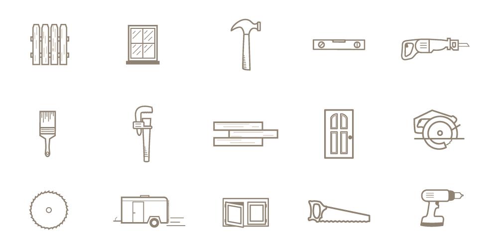Tool icons full