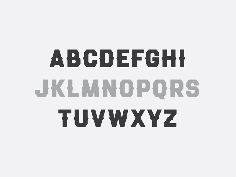 Roundball Typeface hand lettering varsity font typography typeface type lettering