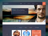 Clothing Website Take 3