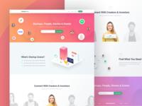 Startup Scene HomePage