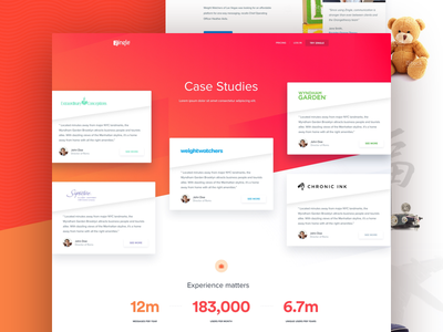 Case Study Page quality interface ui studies experience chronic ink website design case study zingle