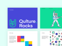 Qulture Rocks Branding Pages