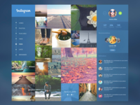 Instagram Website Re-Design