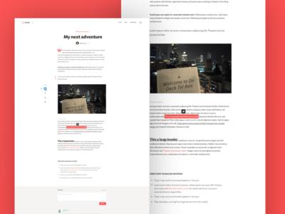 Spoke Blog Page