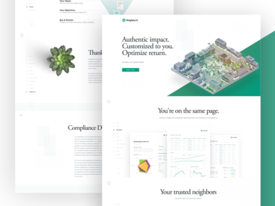 Neighborly Investments Landing Page Preview