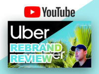 Uber 2018 Re-Brand Review - Video