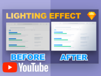 How to Create a Lighting Effect Inside Sketch