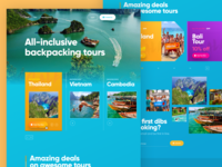 BackpackingingTours Website Preview