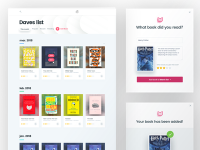 BookClub Product and OnBoarding Ui ui interface bookworm design ebook bookclub