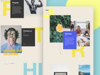 Gript Homepage Concept