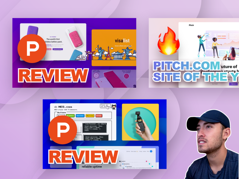 Youtube product hunt review product hunt pitch.com alex banaga youtube channel youtube