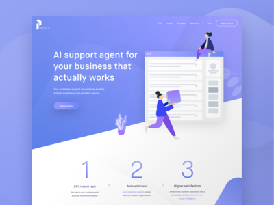 Preview of an upcoming Landing Page