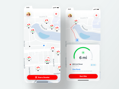 Shared Available Scooters Preview