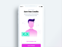 Invite Friends iOS Screen for DoNotPay
