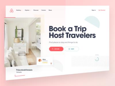 Airbnb Website - Hero Concept