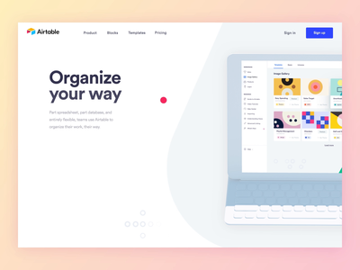 Airtable designs, themes, templates and downloadable graphic