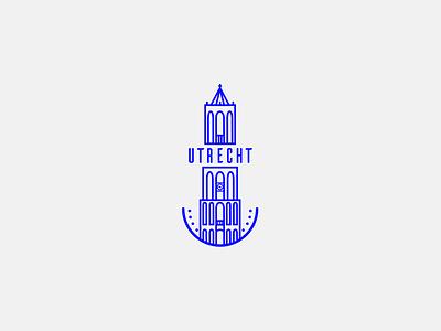 Utrecht | Illustration building utrecht lineart snapchat filter illustration