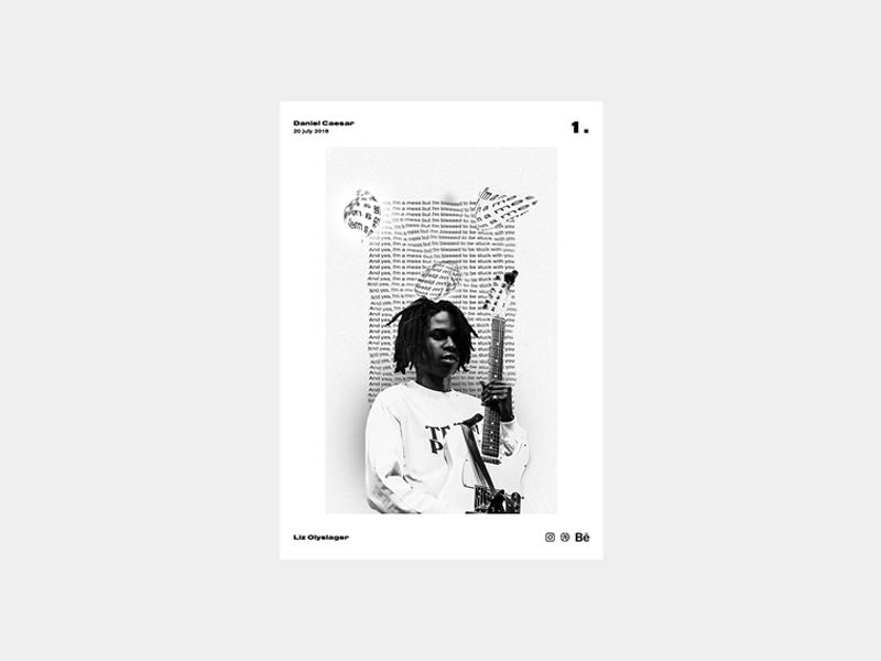 Poster day 1 | Daniel Caesar