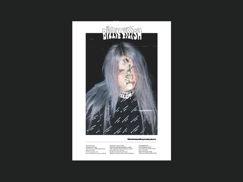Poster day 2 | Billie Eilish