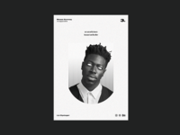 Poster day 3 | Moses Sumney