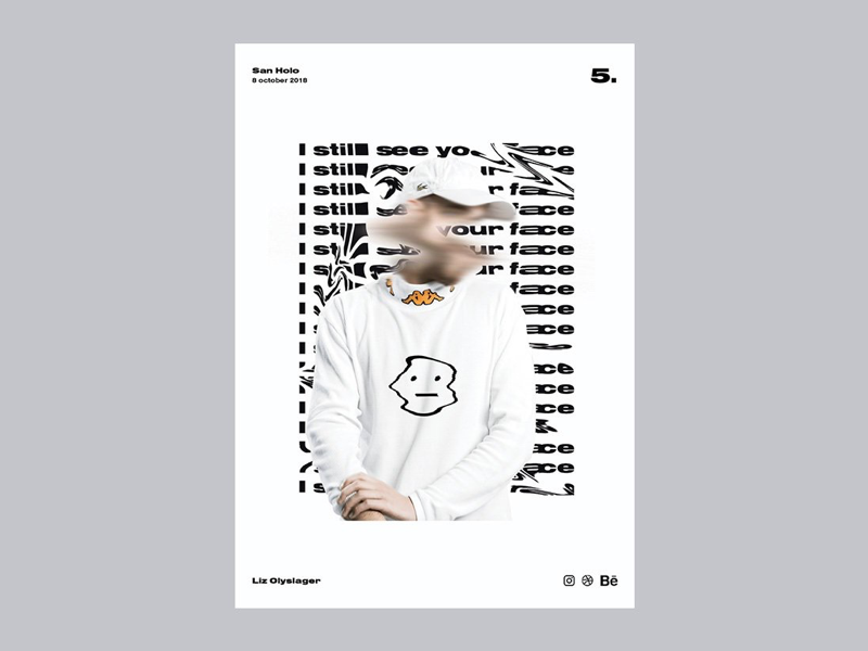 Poster day 5 San Holo